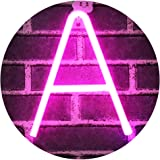 Light Up Letters Neon Signs, Pink Marquee Letters Lights Wall Decor for Christmas, Birthday Party, Bar Valentine's Day Words-