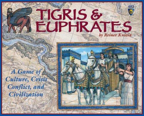 チグリス・ユーフラテス (Euphrates & Tigris) ボードゲーム