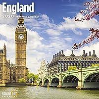 England Wall Calendar 2020 (Travel)
