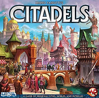 Fantasy Flight Games Citadels Deluxe TCG