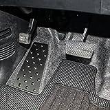 N-BOX カスタム対応 フットレスト 車 ペダルカバー ブラック