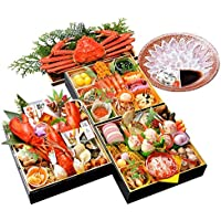 小樽きたいち 海鮮おせち 豪華 特大8寸三段重 全45品 (12月28日(金))