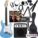 SELDER セルダー エレキギター ストラトキャスタータイプ サクラ楽器オリジナル ST-16/UBL リミテッドセットプラス