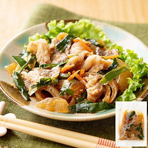 国産牛肉とにらのスタミナ炒め 120g