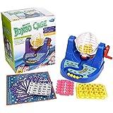 デラックスケージBingo Game Set Toy Lotteryパーティー( W / 70 diff &マーカー組み合わせ)