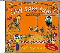 sing sam sum!: 36 pfiffige Lieder, in Mundart gesungen