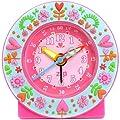 Baby Watch (ベビーウォッチ) 置き時計 サイレントクロック お庭ブルー AC008 mio jardino キッズ目覚まし [正規輸入品]