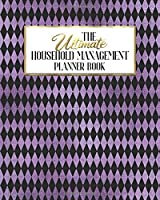 The Ultimate Household Management Planner Book: Purple Gothic Skull Glam | Home Tracker | Family Record | Calendar | Contacts | Password | School | Medical Dental Babysitter | Goals Financial Budget Expense
