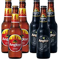 カンボジア 土産 アンコールビール 2種6本セット (海外旅行 カンボジア お土産)