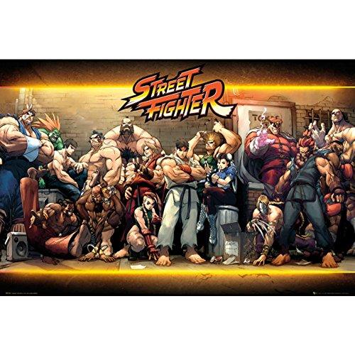 シリーズ30周年記念 STREET FIGHTER ストリートファイター - Characters/ポスター 【公式/オフィシャル】