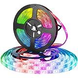 Glückluz USB Powered Smart WiFi 2Meter 60 LEDs Strip Light TV Backlight Strips Lighting Colorful 5050 RGB Lights Home Decorat