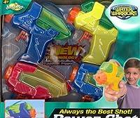 Water Warriors Power Shot Blaster 4 Pk [並行輸入品]
