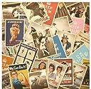 Neustadt ヴィンテージ風 オシャレな レトロアメリカン ポスター柄 Bタイプ ポストカード 32枚セット