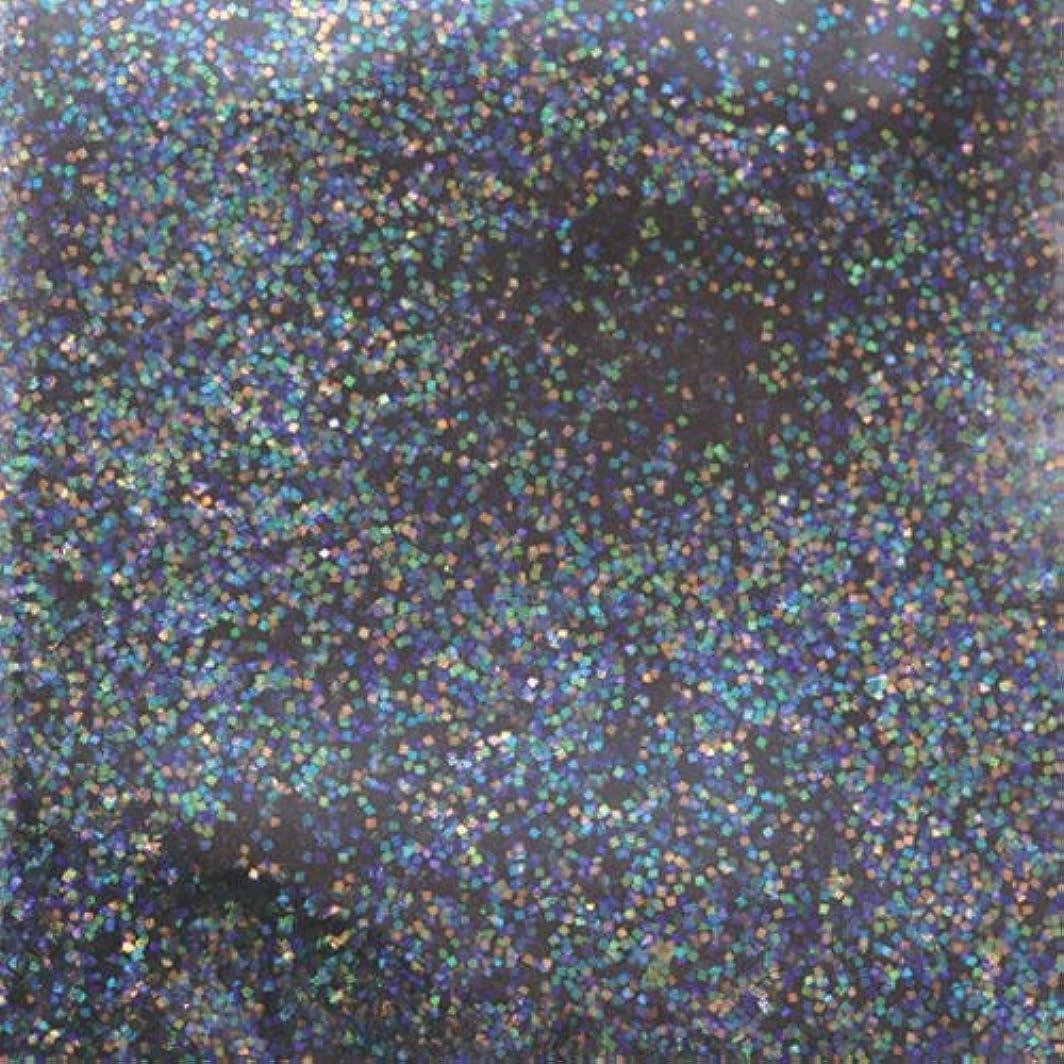 ブルゴーニュスイッチ床ピカエース ネイル用パウダー ピカエース ラメカラーレインボー S #412 ブラック 0.7g アート材
