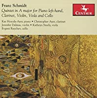 Schmidt: Quintet in A Major for Piano left-hand, Clarinet, Violin & Cello by Kae Hosoda-Ayer (2016-05-04)