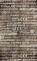 Spooky Words写真バックドロップ5' X 8'