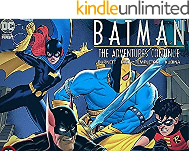 Batman: The Adventures Continue (2020) #1 quarantine anime manga story comic novel kids 2-16 ages learning & enjoying pictures (English Edition)