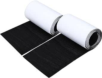 factus 面ファスナー 両面テープ オス メス 超強力 粘着 大容量 幅広 タイプ 幅11cm×長さ1m