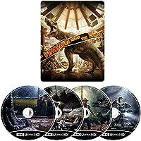 【Amazon.co.jp限定】 ジュラシック・パーク 4ムービー・コレクション スチールブック・4K ULTRA HD