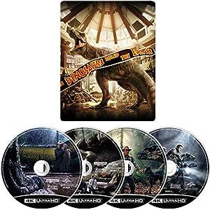 【Amazon.co.jp限定】 ジュラシック・パーク 4ムービー・コレクション スチールブック・4K ULTRA HD [Blu-ray]