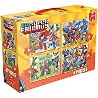 DC Comics Super Friends 4 in a Box Puzzles 16 24 35 and 50 Piece Ages 3+ [並行輸入品]