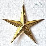 クリスマスオーナメント/シャインゴールドミラースターL 星モチーフ