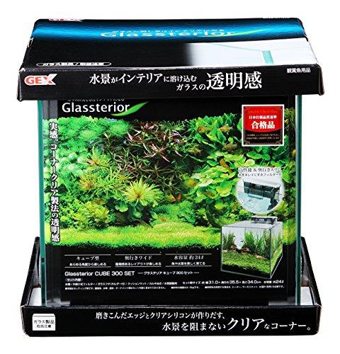 ジェックス グラステリアCUBE300セット