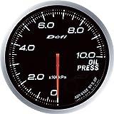 日本精機 Defi (デフィ) メーター【Defi-Link ADVANCE BF】油圧計 (ホワイト) DF10201