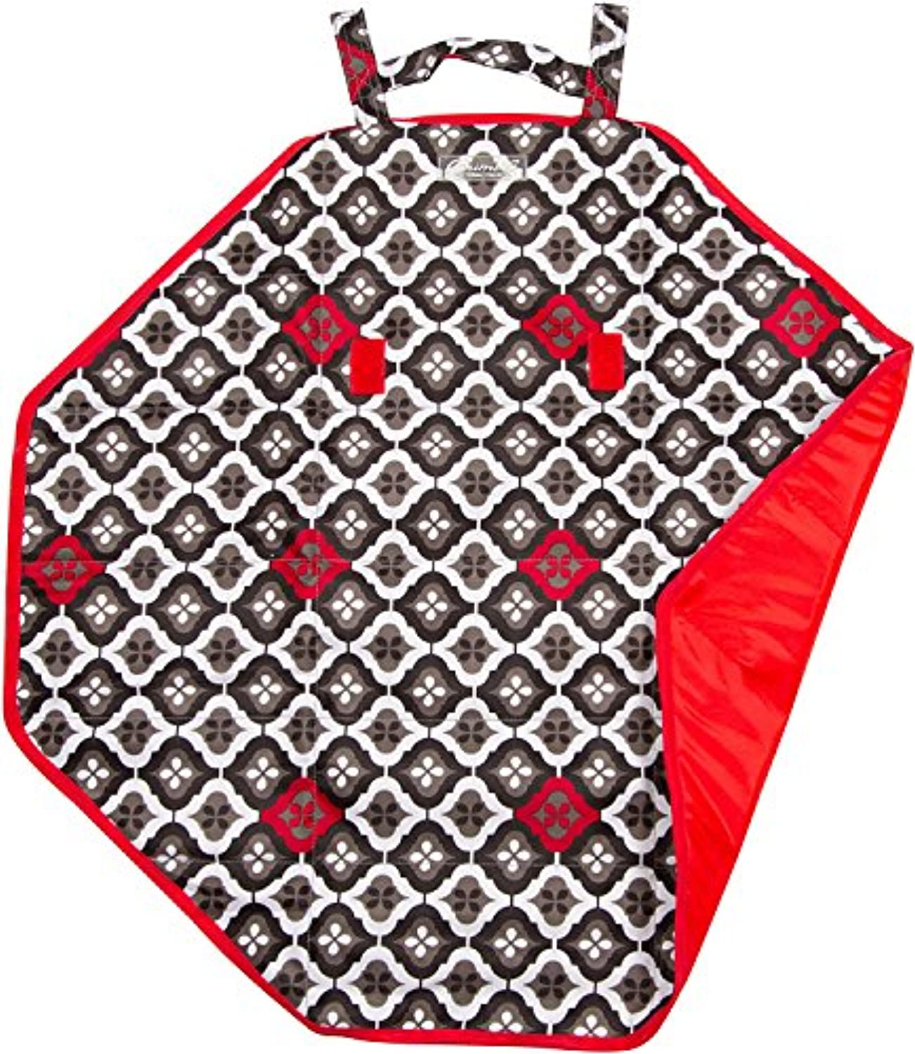 The Bumble Collection Bum and Tum Mini Mat, Royal Ruby Montage, Medium by The Bumble Collection
