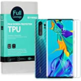 Ibywind Clear TPU Film Screen Protector for Huawei P30 Pro,[Pack of 2],[Camera Lens Protector][Back Carbon Fiber Film Protect