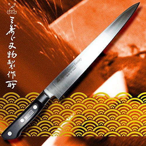 三寿ゞ刃物製作所 柳刃包丁 S61 刃長270mm