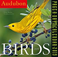 Audubon 鳥 カラー ページ・ア・デー・デスクカレンダー 2019 [15.24cm×15.24cm]