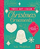 Press Out and Color: Christmas Ornaments -