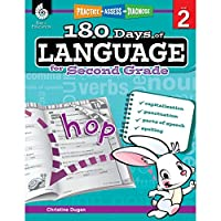 180 Days of Language for Second Grade (Practice, Assess, Diagnose, Level 2)