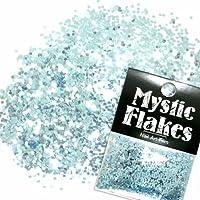 ミスティックフレース ネイル用ストーン メタリックLtブルー サークル 1mm 0.5g