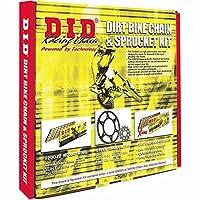 D.I.D MXT-004OEM 520DZ2 Gold Chain and 13 Teeth/48 Teeth Sprocket Kit [並行輸入品]