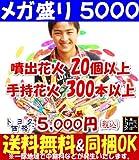 メガ盛り5000【手持花火・噴出花火】
