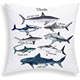 BLEUM CADE Lemon Bicycle Pillow Cover Creative Fruit Pillow Case Throw Cushion Cover for Sofa Couch Bed and Car Set Sham Squa