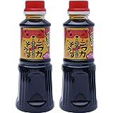 【 竹重醤油 】 博多ニワカそうす 300ml ×2本