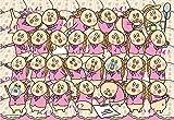 300ピース ジグソーパズル 朝だよ!  貝社員 ハイ貝がいっぱい(26x38cm)