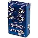 JOYO Aquarius Digital Delay Effect Pedal Multi-Mode 8 Digital Delay Effects with Looper (5 Minutes Recording Time) for Electr