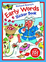 Richard Scarry's Early Words Sticker Book (Richard Scarry's Sticker and Poster Books)