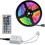 LED Lightstrip RGB Lights String 1/2/3/5/10/20m USB Powered with 44-Key Remote Multicolor for TV Window Bedroom Restroom Indo