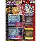ポケットモンスター(ポケモン)バトメモDX 01【カメール・カメックス&ピカチュウ・ライチュウ】