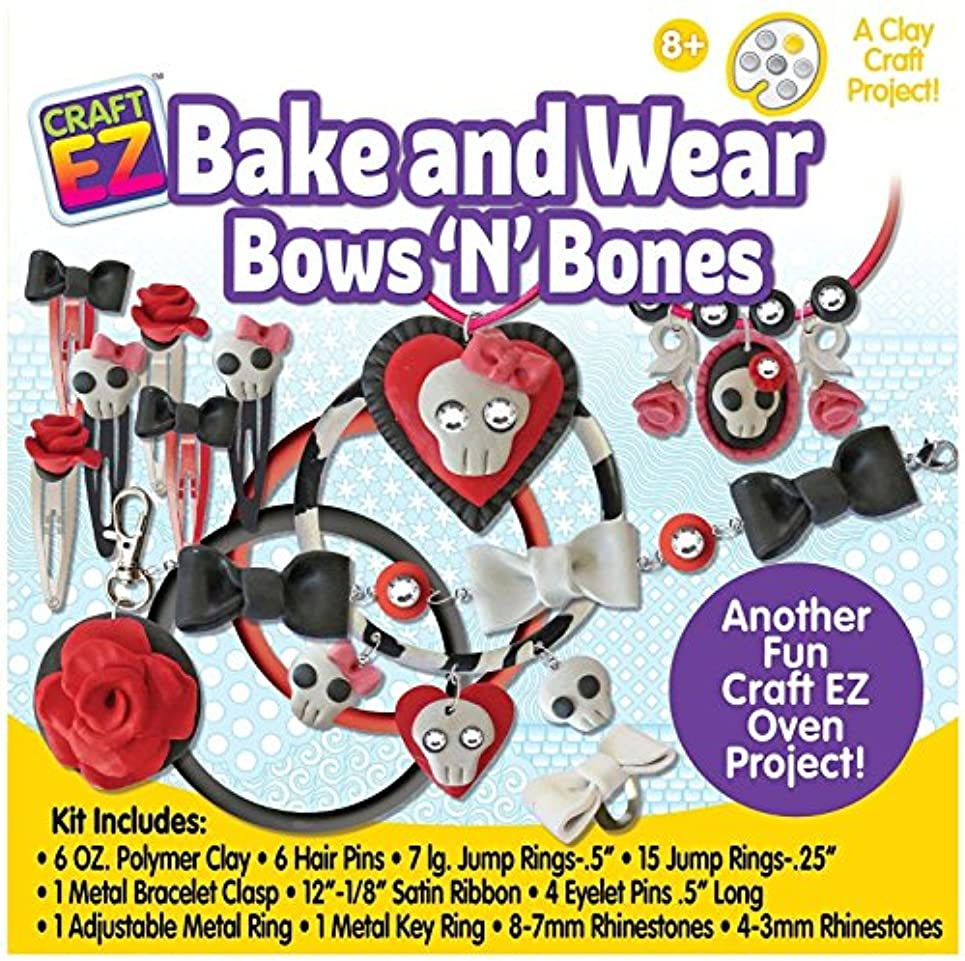 Craft EZ Bake N Wear Bows N Bones Bake N Wear