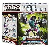 KRE-O Transformers Micro-Changers Combiners Decepticon Piranacon Construction Set (A4475) [並行輸入品]