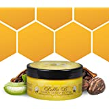 BELLA B Tummy Honey Butter 4 oz 1 Pack - Tummy Butter with Natural & Organic Ingredients - Pregnancy & Baby Safe - Use Daily