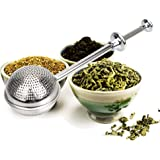 iTimo Tea Infuser Filter Reusable Spice Tea Tool Accessories Metal Tea Bag Stainless Steel Teapot Tea Strainer Ball Adjustabl