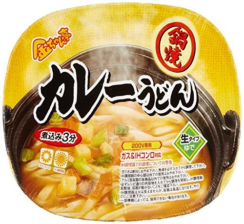 徳島製粉 金ちゃん亭 鍋焼カレーうどん 216g×12個