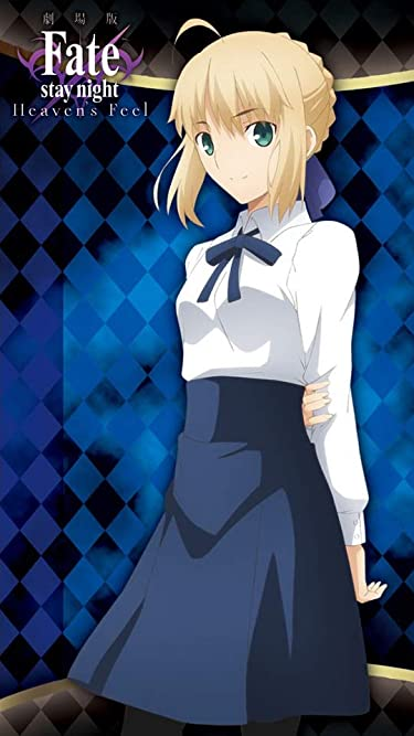 Fate  iPhone/Androidスマホ壁紙(540×960)-1 - Fate/stay night[Heaven's Feel]『セイバー』
